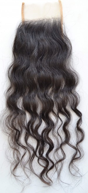 Wavy Curly Lace Closure 741